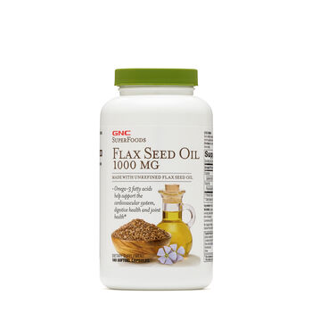 Flax Seed Oil 1000 MG | GNC