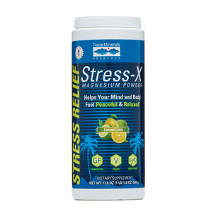 Stress-X Magnesium Powder - Lemon Lime | GNC