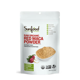 Raw Organic Red Maca Powder | GNC