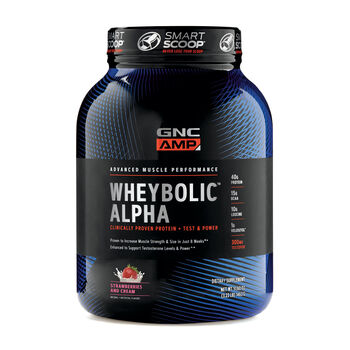 Wheybolic™ Alpha - Strawberries and CreamStrawberries and Cream | GNC