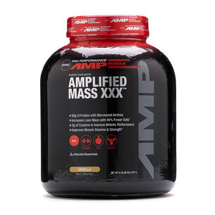 Amplified Mass XXX™- VanillaVanilla | GNC