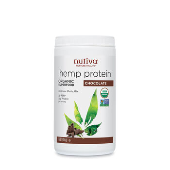 Organic Hemp Protein - ChocolateChocolate | GNC
