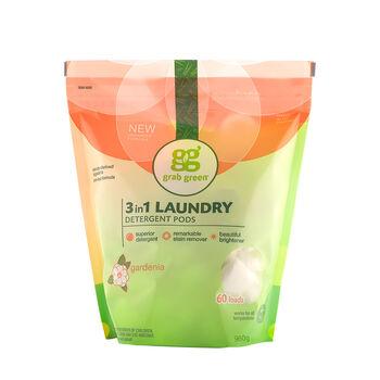 3 in 1 Laundry Detergent Pods - GardeniaGardenia | GNC