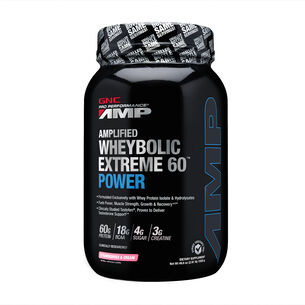 Amplified Wheybolic Extreme 60™ Power - Strawberries and CreamStrawberries and Cream | GNC
