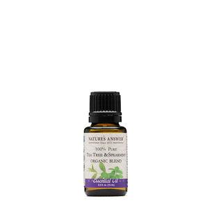 100% Pure Tea Tree & Spearmint   GNC