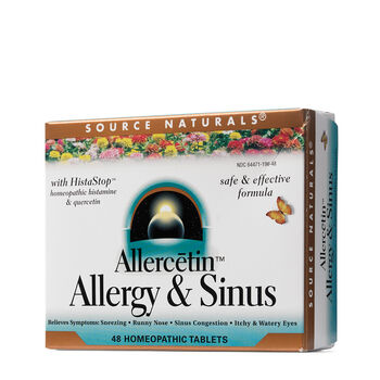 Allercetin™ Allergy & Sinus | GNC