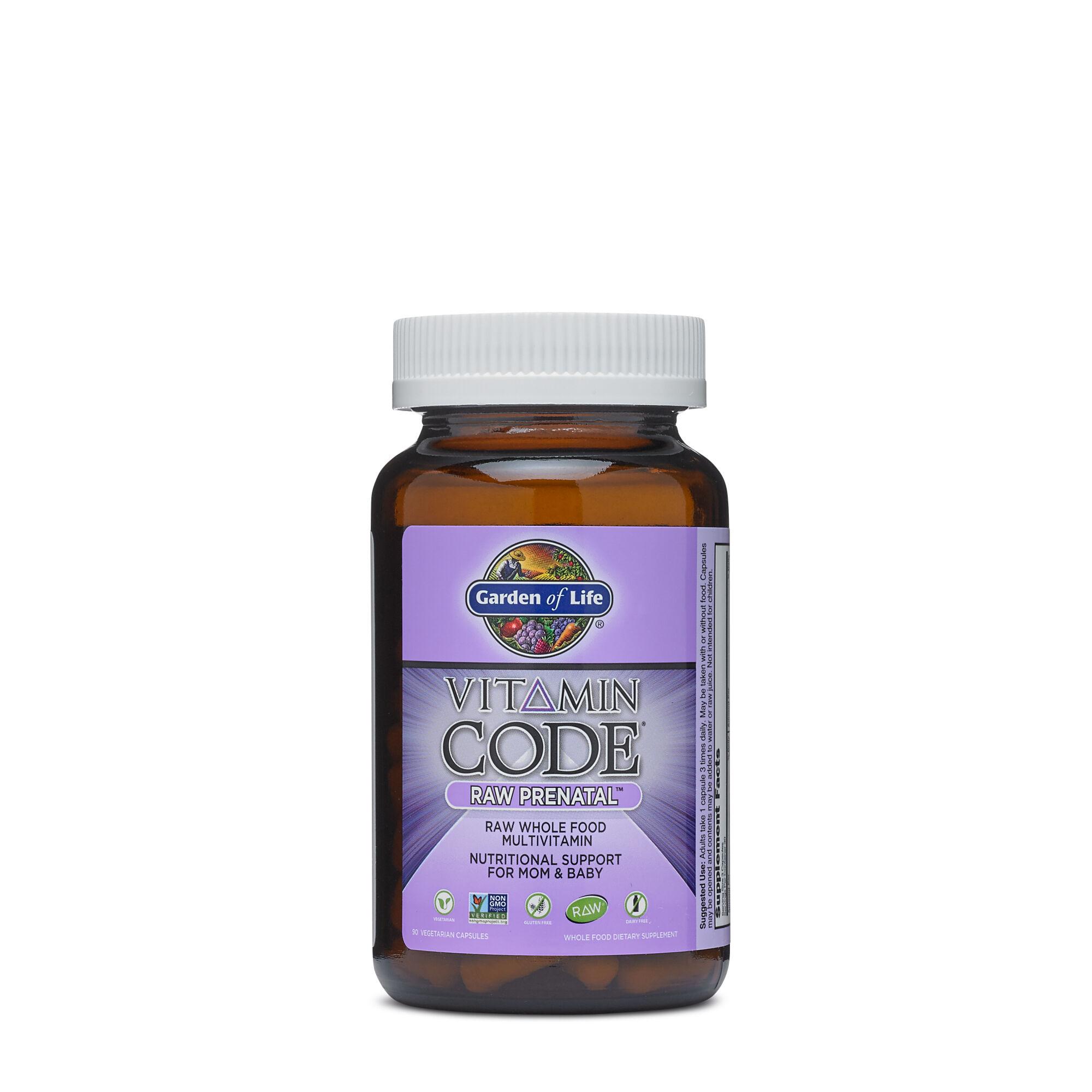 Images. Vitamin Codeu0026reg; RAW Prenatalu0026trade ...