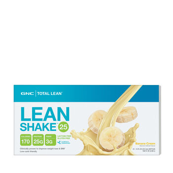 Lean Shake™ 25 - Banana Cream - LIMITED EDITION FLAVORBanana Cream | GNC