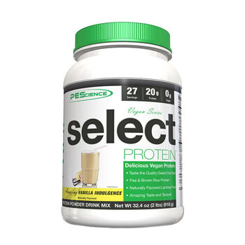 Vegan Series select PROTEIN™ - Amazing Vanilla IndulgenceAmazing Vanilla Indulgence | GNC