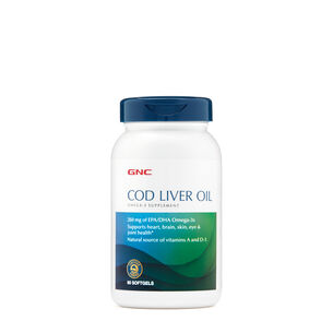 Cod Liver Oil | GNC
