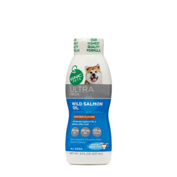 Ultra Mega Wild Salmon Oil for All Dogs | GNC