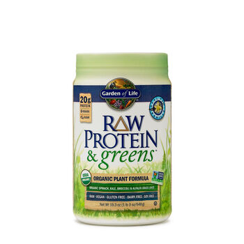 Garden Of Life Raw Protein Greens Real Vanilla Gnc