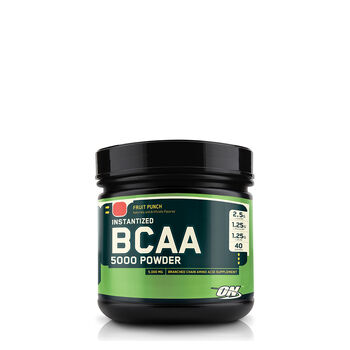 BCAA 5000 - Fruit PunchFruit Punch | GNC