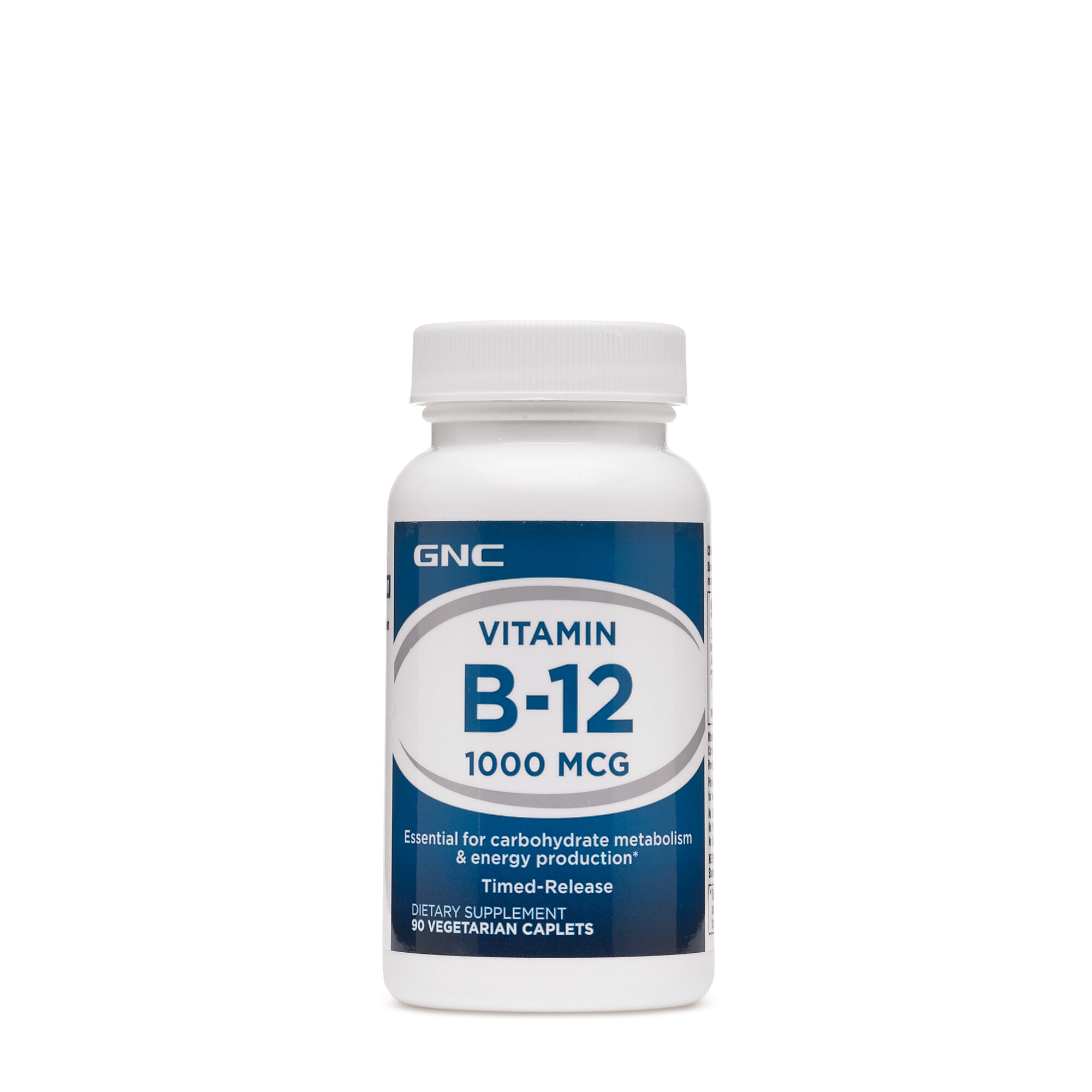 GNC Vitamin B12 1000 MCG 90 Vegetarian Caplets   eBay
