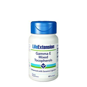 Gamma E Mixed Tocopherols | GNC