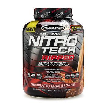 Nitro-Tech RIPPED™ - Chocolate Fudge BrownieChocolate Fudge Brownie | GNC