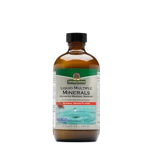 Liquid Multiple Minerals - Natural Grape | GNC
