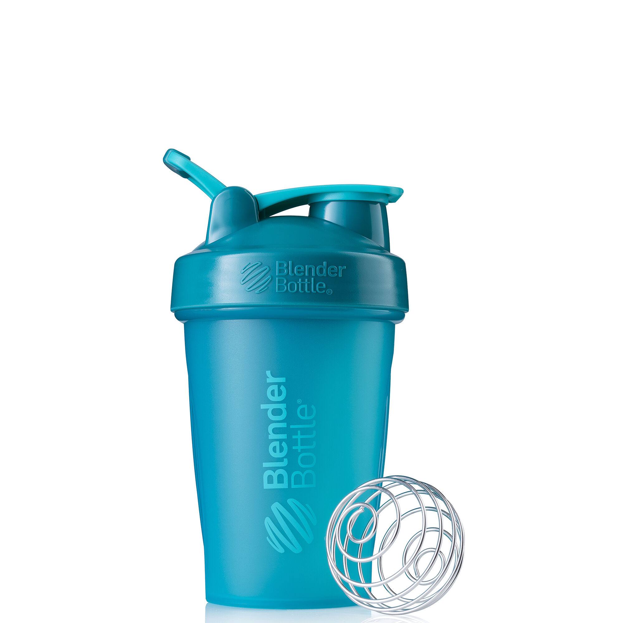 Blenderbottle20oz Classicg (w/ Loop) Teal Mixers Shakers And Bottles