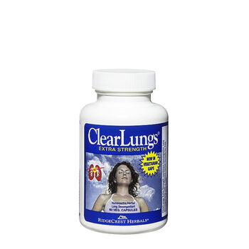 Clear Lungs® Extra Strength | GNC