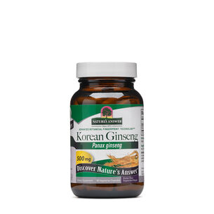 Korean Ginseng 500 mg | GNC