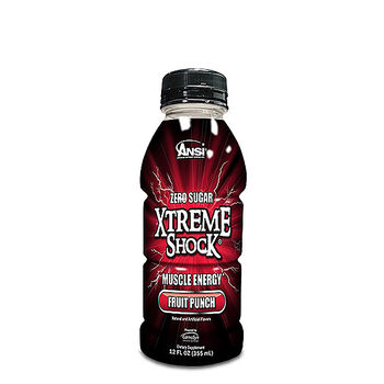 Xtreme Shock® Muscle Energy Drink - Fruit PunchFruit Punch | GNC