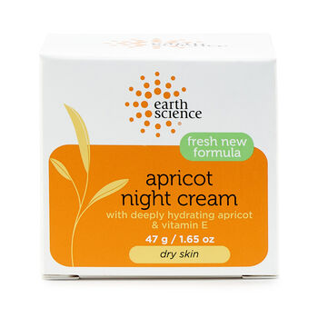 Apricot Night Cream with Deeply Hydrating Apricot and Vitamin E | GNC