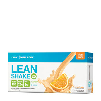 Lean Shake™ 25 – Orange Cream - LIMITED EDITION FLAVOR!Orange Cream | GNC