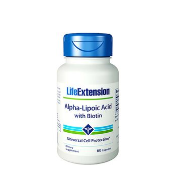 Alpha-Lipoic Acid with Biotin | GNC