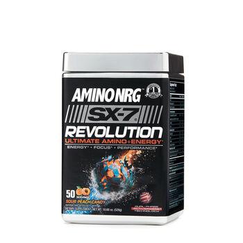 Amino NRG™ SX-7 Revolution - Sour Peach CandySour Peach Candy | GNC
