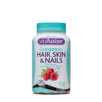 Gorgeous Hair, Skin & Nails Multivitamin - Natural Raspeberry | GNC