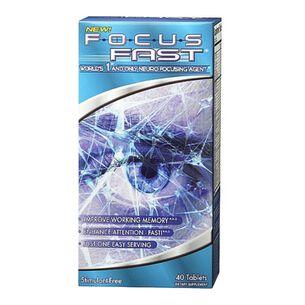 Focus Fast® | GNC