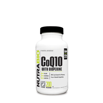 CoQ10 with Bioperine | GNC