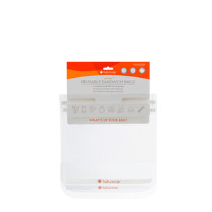 Ziptuck Reusable Snack Bags - Clear | GNC