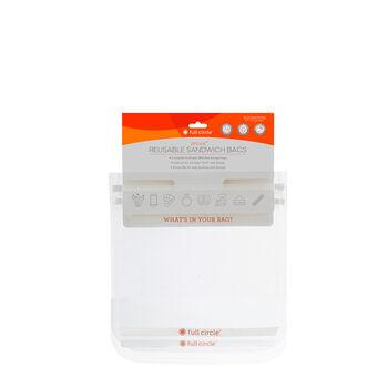 Ziptuck Reusable Snack Bags - Clear | GNC