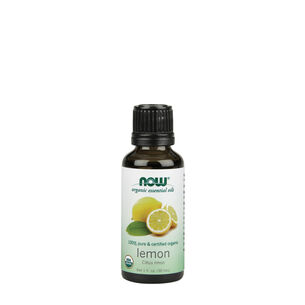 100% Pure & Certified Organic Lemon | GNC