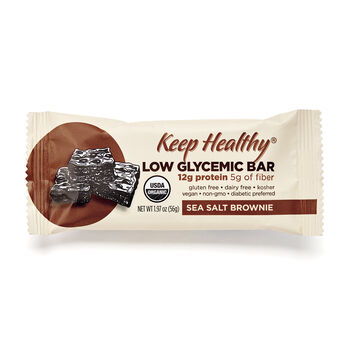 Low Glycemic Bar - Sea Salt BrownieSea Salt Brownie | GNC