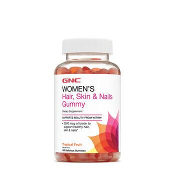 Hair Skin Nails Gummy Tropical Fruit Gnc