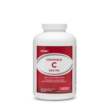 Chewable C 500 MG - Chewable Mixed Fruit | GNC