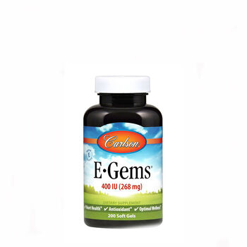 E-Gems® Natural Vitamin E - 400 IU | GNC
