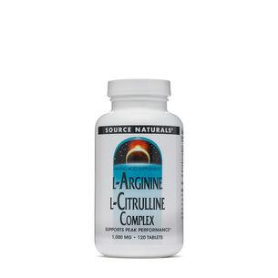 L-Arginine L-Citrulline Complex 1000 MG | GNC