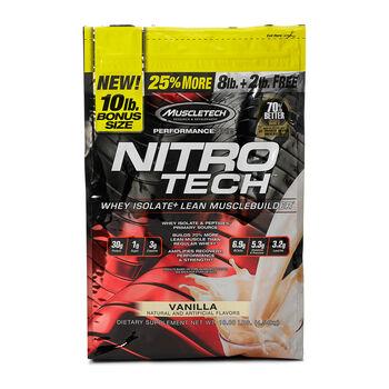 Nitro-Tech™ - VanillaVanilla | GNC