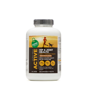 GNC Ultra Mega Hip & Joint Health Sport - Yummy Chicken Flavor   GNC