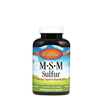 MSM Sulfur 1000 mg | GNC