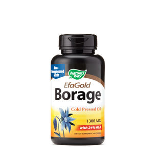EfaGold® Borage Cold Pressed Oil 1300 MG | GNC