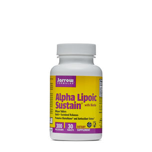 Alpha Lipoic Sustain® with Biotin 300 mg | GNC