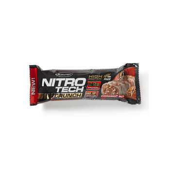 Nitro-Tech® CRUNCH - Cinnamon BunCinnamon Bun | GNC