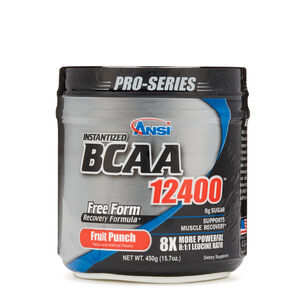 Instantized BCAA 12400™ - Fruit PunchFruit Punch | GNC
