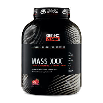 Amplified Mass XXX™- StrawberryStrawberry | GNC
