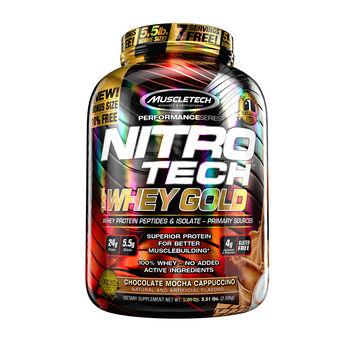 Nitro-Tech™ 100% Whey Gold - Chocolate Mocha CappuccinoChocolate Mocha Cappuccino | GNC