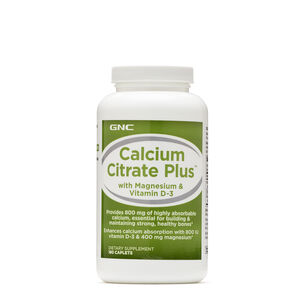 Calcium Citrate Plus™ with Magnesium & Vitamin D3 | GNC
